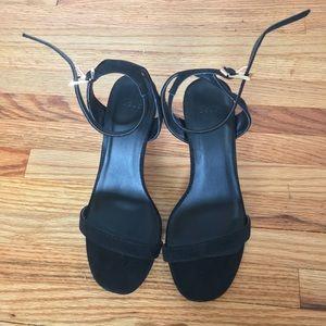 c37aa2badf ASOS Shoes | Wide Fit Heeled Sandals Us 6 Uk 3 | Poshmark
